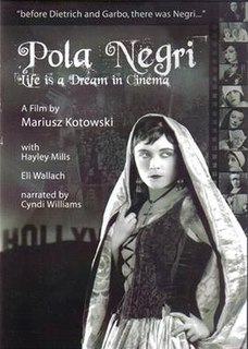 <i>Pola Negri: Life Is a Dream in Cinema</i>