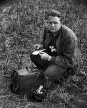 Howard Sochurek - Portrait, possibly a self-portrait, of Howard Sochurek in Vietnam, 1 January 1955