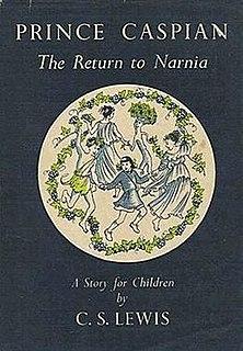 <i>Prince Caspian</i> Childrens fantasy novel by C. S. Lewis, 1951