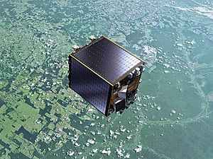Proba-V - Artist's view of the Proba-V satellite