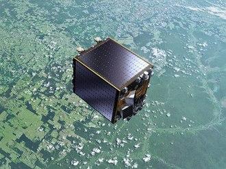 Proba-V - Artist's view of the Proba-V satellite