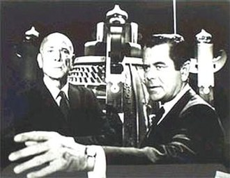 CBS Thursday Night Movie - Dean Jagger and Glenn Ford in The Brotherhood of the Bell.