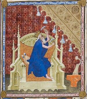 Pseudo-Jacquemart - Image: Pseudo Jacquemart David playing bells