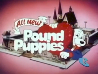 Pound Puppies (1986 TV series) - The 1988 Pound Puppies relaunch series card on Cartoon Network.
