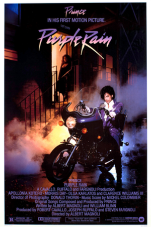 Purple Rain (film) - Theatrical release poster