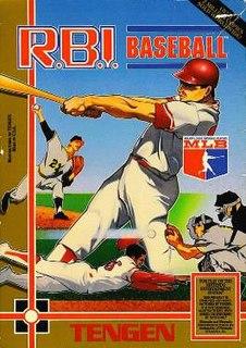 <i>R.B.I. Baseball</i> Baseball video game series