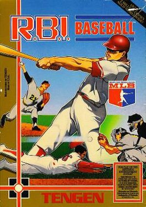 R.B.I. Baseball - Cover art of R.B.I. Baseball