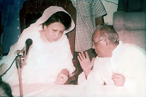 Sheikh Razzak Ali - Razzak Ali at the BNP with Khaleda Zia