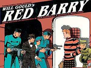 Red Barry (comic strip) - Cover of the 1989 Fantagraphics collection