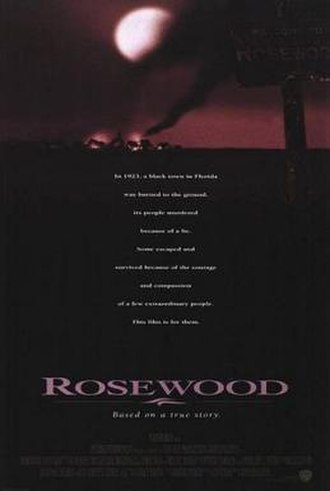 Rosewood (film) - Theatrical release poster