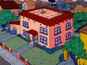 Rugrats - Tommy's house, the primary setting of Rugrats