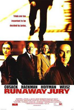 Runaway Jury - Theatrical release poster
