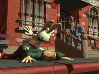 Sam & Max Hit the Road - Image: Sam Max Freelance Police