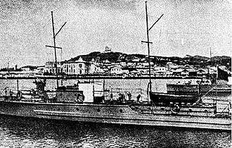 Italian invasion of Albania - Albanian patrol boat Sarandë, sister ship to Tiranë