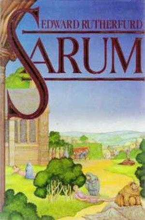 Sarum (novel) - Image: Sarum Book