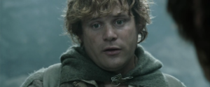 Samwise Gamgee - Sean Astin as Sam in Peter Jackson's The Lord of the Rings: The Two Towers