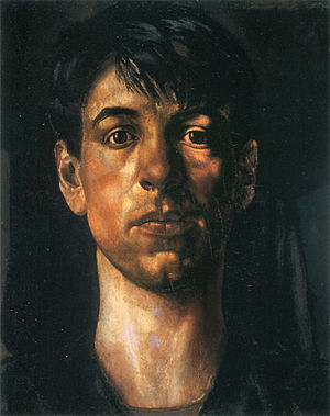 Stanley Spencer - Self-portrait (1914)