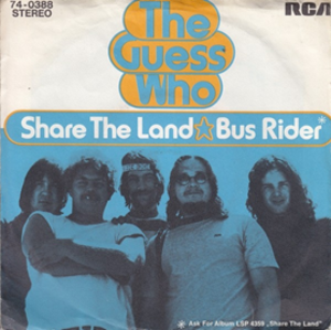 Share the Land (song) - Image: Share the Land (song)