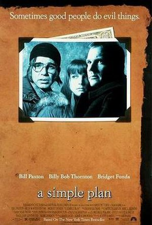 A Simple Plan (film) - Theatrical release poster