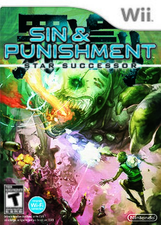 Sin & Punishment: Star Successor - North American box art