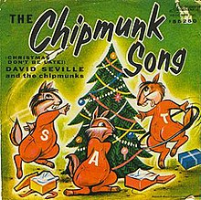 Single The Chipmunks-The Chipmunk Song cover.JPG