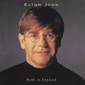 Made in England (Elton John album) - Image: Sir John Elton Was Made In England