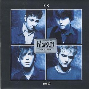 Six (Mansun song) - Image: Six single CD1 front