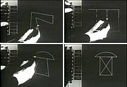 Ivan Sutherland demonstrating Sketchpad (UVC via IA: video and thumbnails)