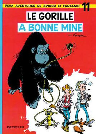 Le gorille a bonne mine - Cover of the Belgian edition