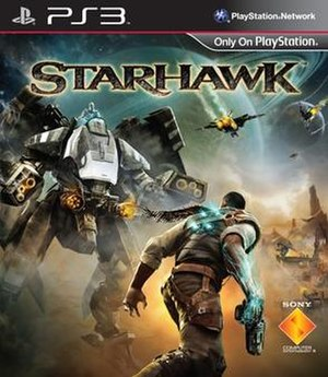 Starhawk (2012 video game) - Image: Starhawk coverart