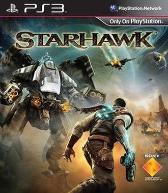 Starhawk (2012 video game) - Image: Starhawk coverart