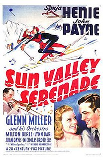 <i>Sun Valley Serenade</i> 1941 film by H. Bruce Humberstone