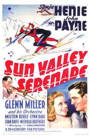Sun Valley Serenade - Theatrical release poster