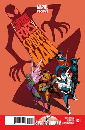 The Superior Foes of Spider-Man - Image: Superior Foes of Spider Man 1