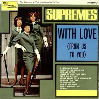 A Bit of Liverpool - Image: Supremes With Love From Us To You