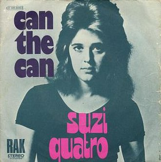 Can the Can - Image: Suzie Quatro Can the Can