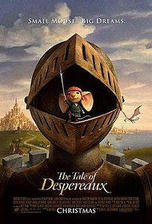 <i>The Tale of Despereaux</i> (film) 2008 computer-animated film directed by Sam Fell