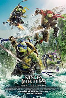 Teenage Mutant Ninja Turtles: Out of the Shadows (2016) Bluray Subtitle Indonesia
