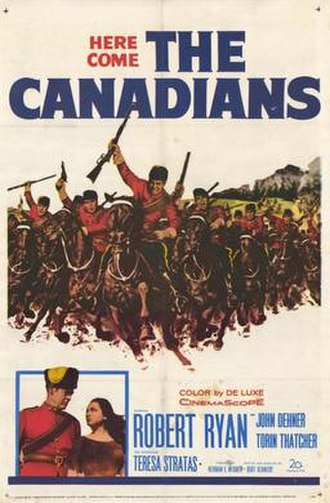 The Canadians (1961 film) - Movie poster