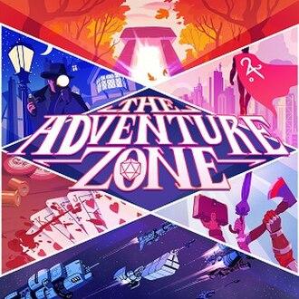 The Adventure Zone - Image: The Adventure Zone Podcast Cover