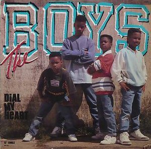 Dial My Heart - Image: The Boys Dial My Heart