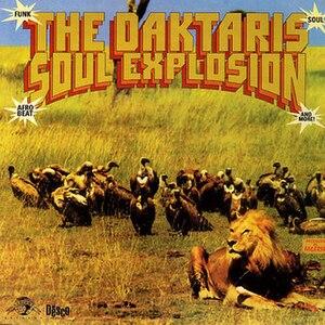 The Daktaris - Cover of Soul Explosion