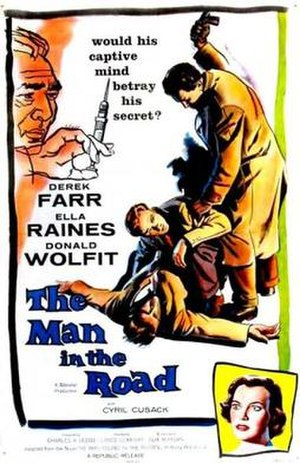 The Man in the Road - Image: The Man in the Road Film Poster