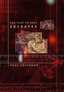 <i>The Plot to Save Socrates</i> book by Paul Levinson