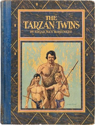 Tarzan and the Tarzan Twins - Cover of The Tarzan Twins (1927)