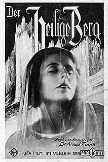 <i>The Holy Mountain</i> (1926 film) 1926 film by Arnold Fanck