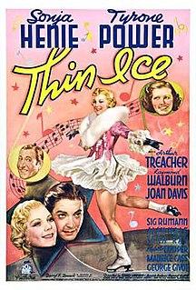 <i>Thin Ice</i> (1937 film) 1937 film by Sidney Lanfield