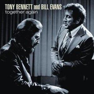 Together Again (Tony Bennett and Bill Evans album) - Image: Togetheragainbennett evans