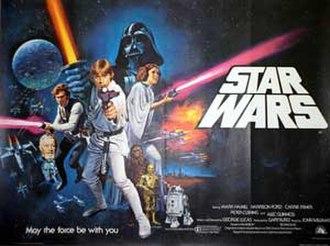 Brothers Hildebrandt - Image: Tom Chantrell Star Wars quad poster 1977