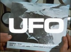 UFO (TV series) - Image: UFO Titles